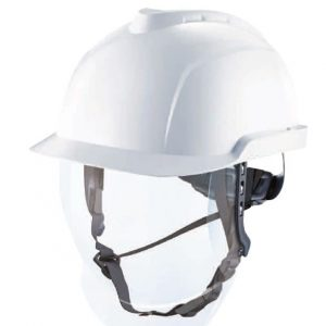 Safety helmets, face shields and glasses