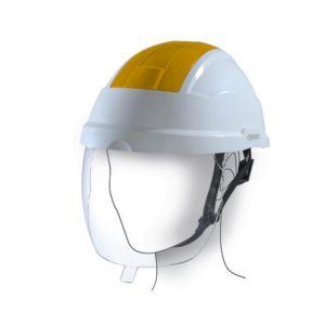 Ochranné přilby, štíty a brýle